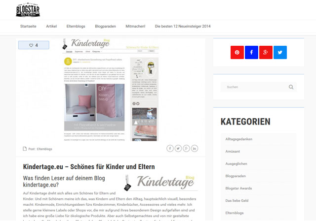 BlogStarEltern-Interview