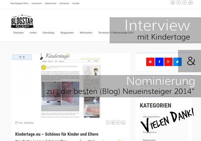 Blogstar-Eltern-Interview