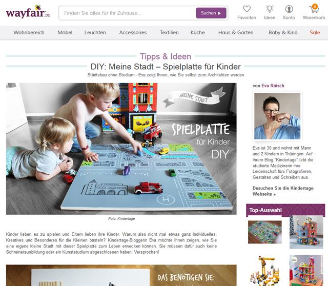 Wayfair-DIY-Spielplatte
