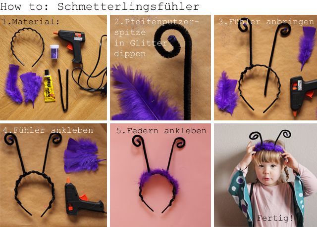 Diy Schmetterlingskostüm Kindertage Design Im Kinderzimmer